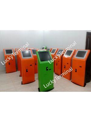 Վճարային տերմինալ LuckyPay 100 օգտագործած